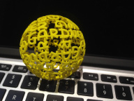 MG 3D PRINTED BALL