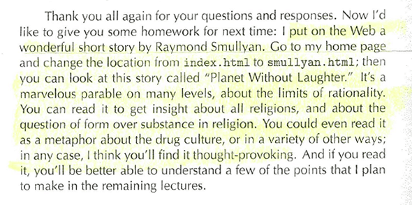 Don Knut Smullyan Letter2
