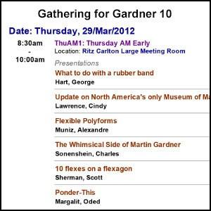G4G10 Gift Exchange Book – Gathering 4 Gardner